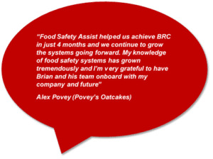 BRC Global Standards Client Quote