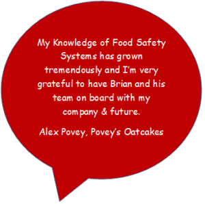 Poveys Oatcakes Quote